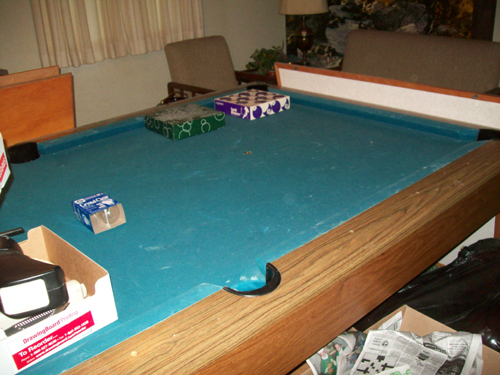... Pool Table ...